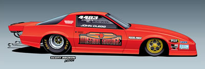 Mission Garage NHRA Competition Eliminator